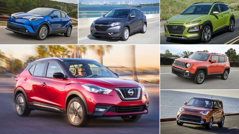 2018 Nissan Kicks Vs 5 Other Subcompact Crossovers Compared With