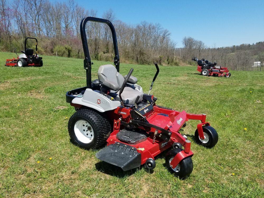 2014 Exmark 60 Lazer Z Commercial Hydro Zero Turn Lawn Mower Kawasaki Engine Exmark Zero Turn Lawn Mowers Lawn Mower Lawn Equipment