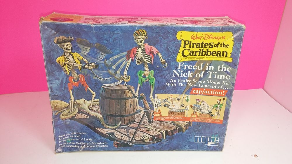 MPC 1972 Disney Pirates of The Caribbean Freed in The Nick
