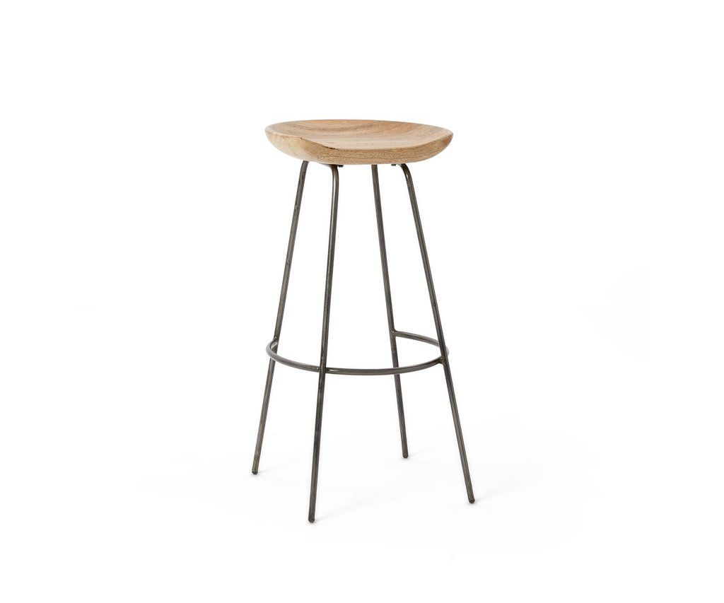 Wondrous Alden Bar Stool Our Alden Stool Pairs A Rustic Carved Wood Ncnpc Chair Design For Home Ncnpcorg