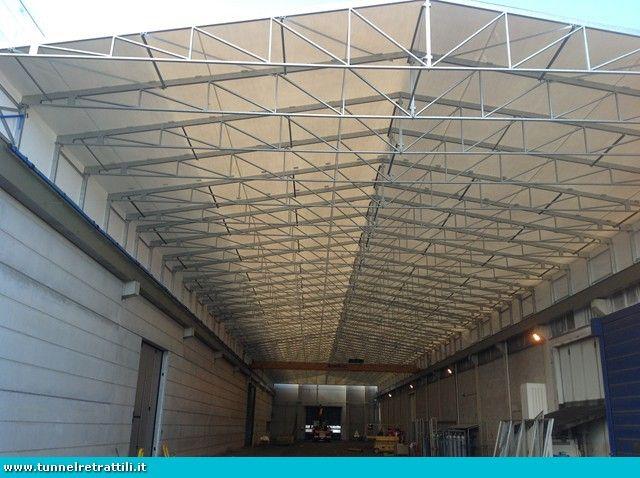 Tettoie Mobili ~ Tunnel mobili tunnel mobili usati coperture mobili retrattili