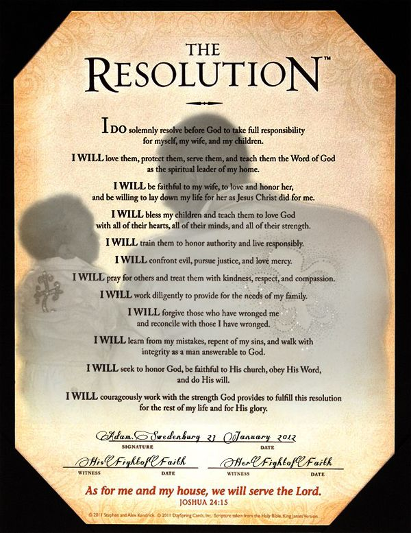 Courageous Resolution