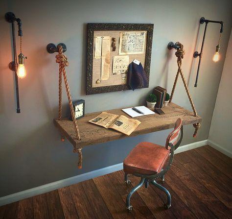 Paar oder einzelne hohe Plug-In-Wandlampen KOSTENLOSER VERSAND + Glühlampen !! Industrierohrl…