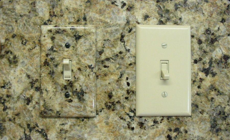 Custom Stone Switch Plates Decorative Switch Plate Custom Stone