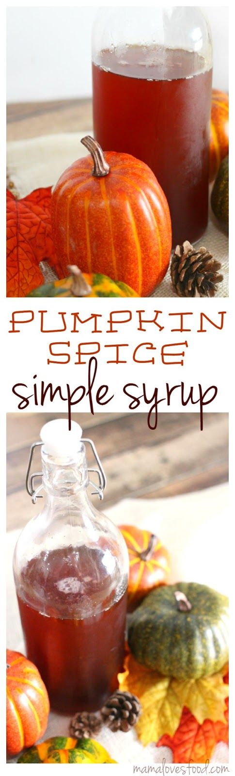 Pumpkin Spiced Simple Syrup - perfect for making Pumpkin ...