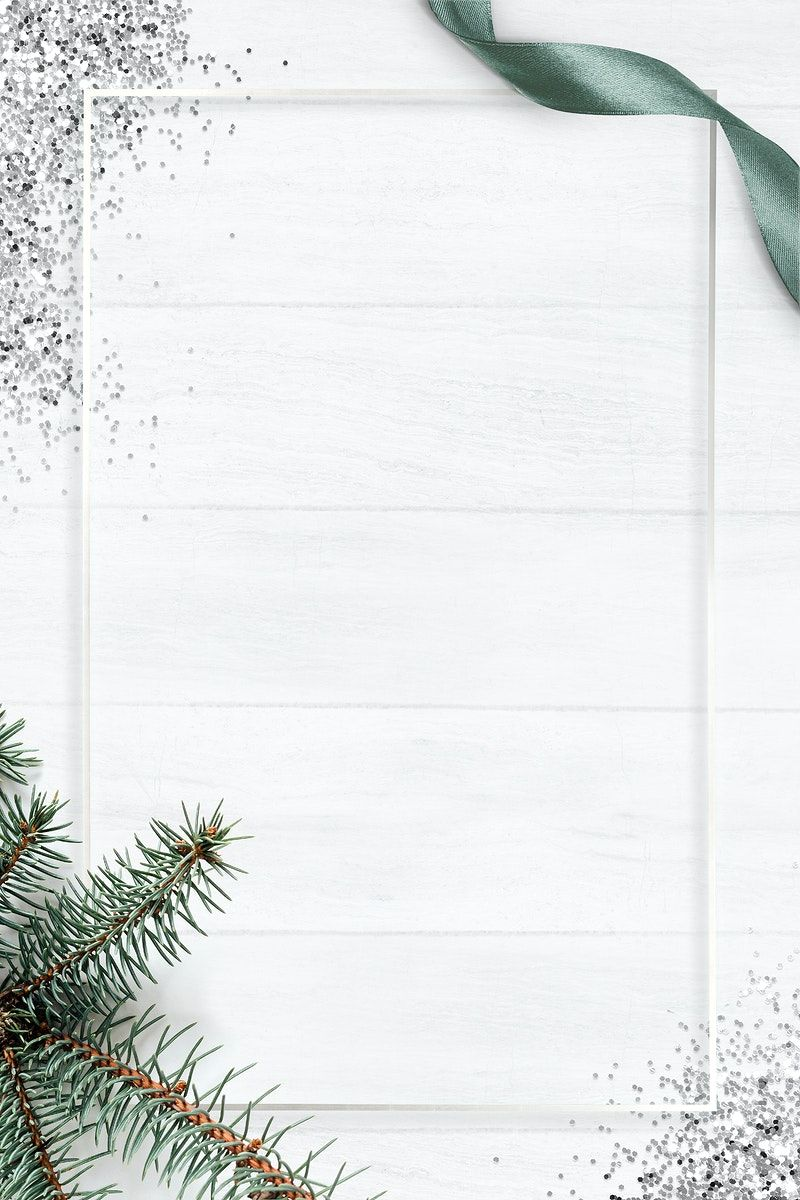 White Frame Psd Christmas Background Free Image By Rawpixel Com Marinemynt In 2021 Christmas Background Images Christmas Background Flower Background Wallpaper