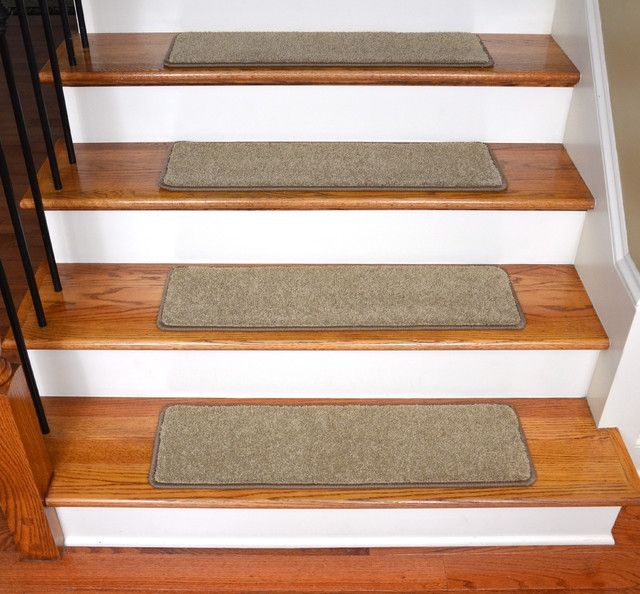 Merveilleux Modern Stair Tread Rugs Dean Pet Friendly Non Slip Carpet Stair Treads  30quotx9quot 15 Satin