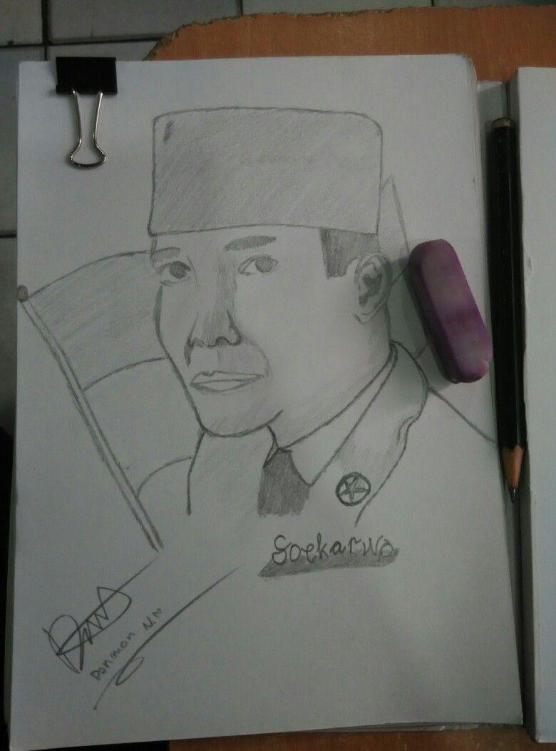 Foto Gambar Lukisan Pahlawan