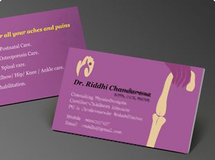 Physiothe Business Card Design Australia Google Search