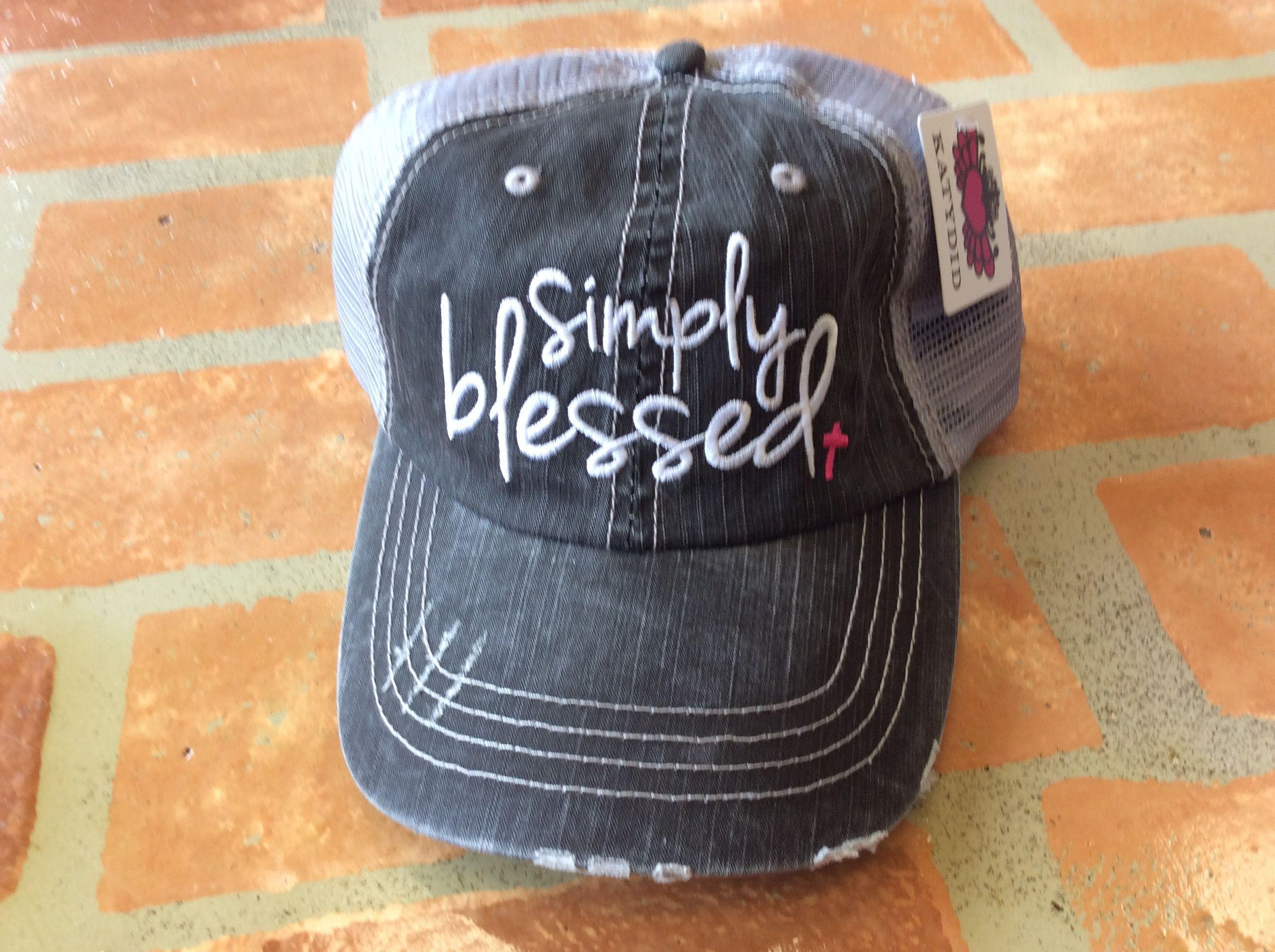 d1d10d6b301 Simply blessed hat