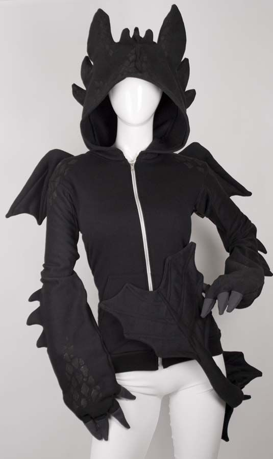 Cute Dragon Hoodie £222 large/ extra large | Toothless Kigurumi ...