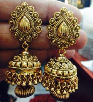 Jhumka earrings online shopping India | Buy fashion ear rings ...