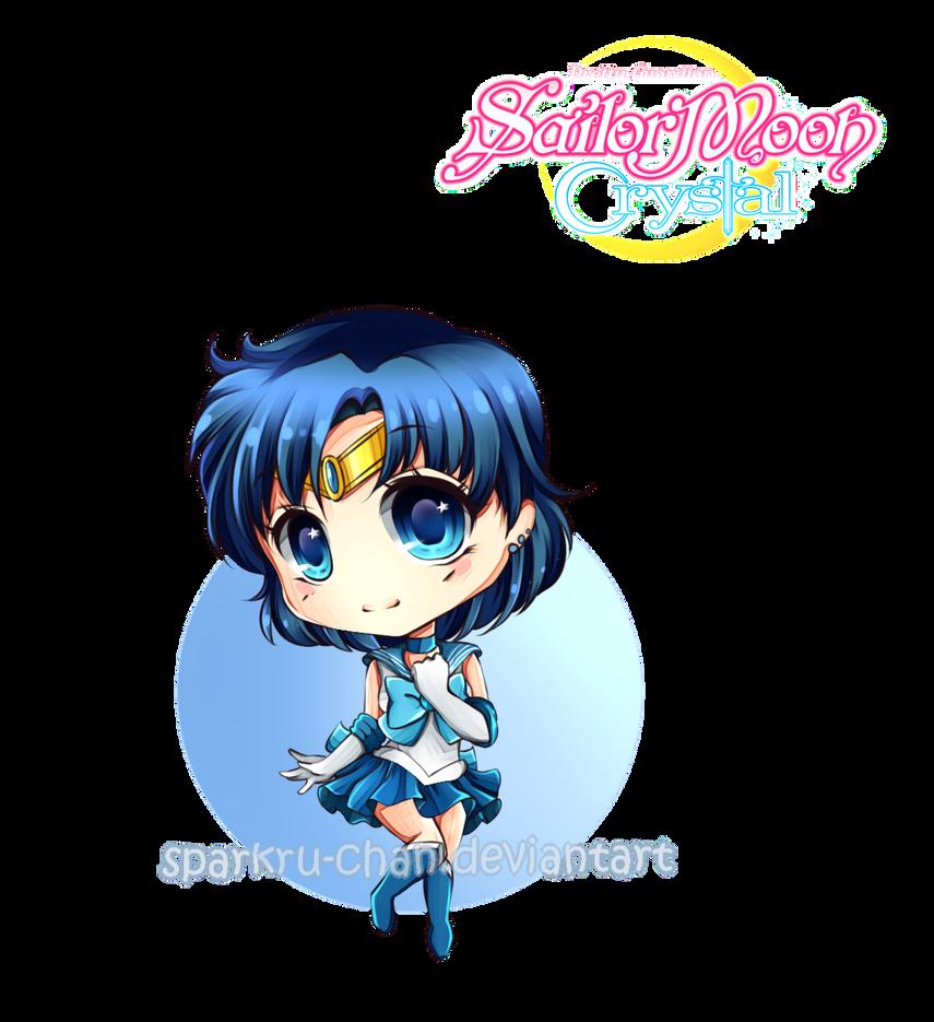 Sailor Moon Crystal Mercury Ami By Sparkru Chan Sailor Moon Sailor Moon Crystal Sailor Moom