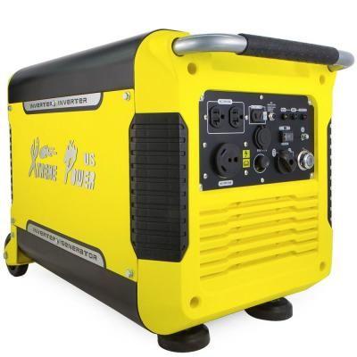 Xtremepowerus 3000 Watt Gas Powered Digital Inverter Powered Generator And 5 Volt Usb 65065 Power Generator Inverter Generator Portable Inverter Generator