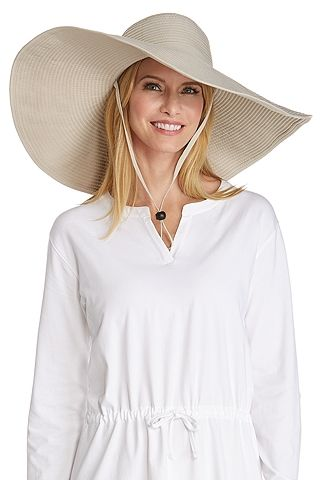 d19d0921857ff0 Coolibar sun protection hats are rated to block 97% UV. Searching for a  shapeable wide brim hat that can safely take you from pool deck to