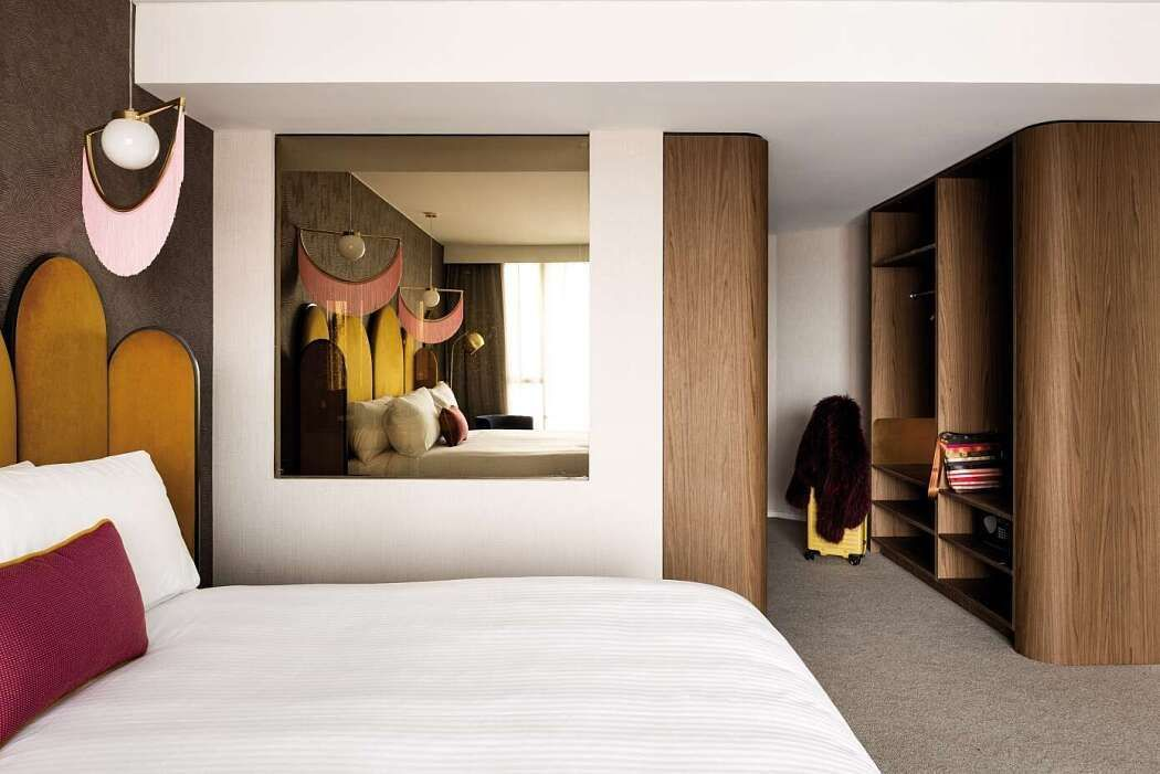 Home Interior Bedroom Ovolo the Valley by Woods Bagot.Home Interior Bedroom  Ovolo the Valley by Woods Bagot