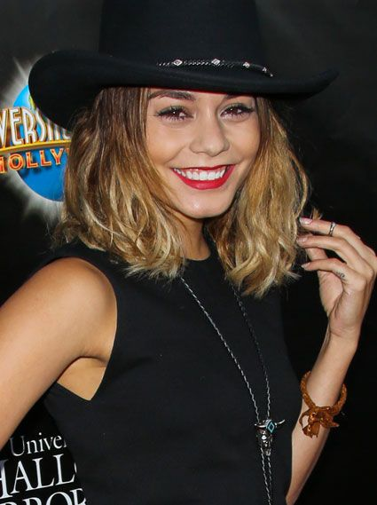 Vanessa Hudgens Does Country Chic In A Snazzy Cowgirl Hat At