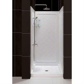 Bath Authority Dreamline Qwall 5 Shower Backwalls Kit 30 34