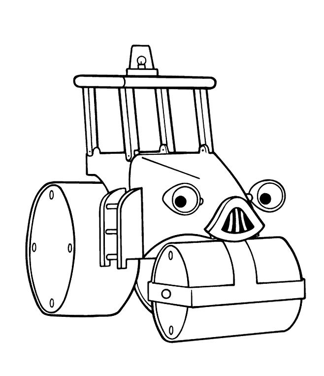 Roley The Bus Voltage Coloring Pages Coloring pages for later