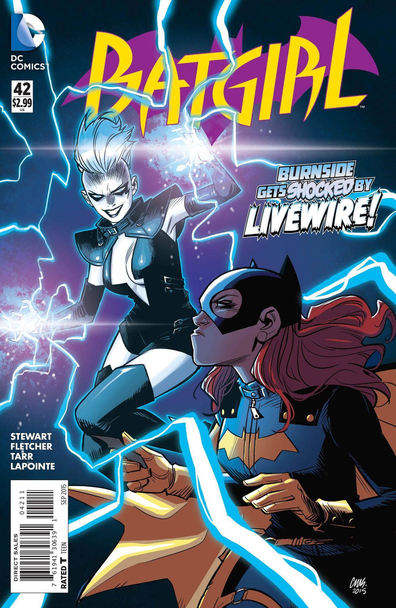 Batman Live Wire Comic Cover - WIRE Center •