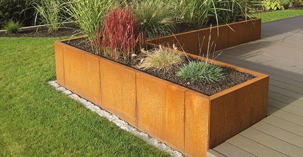 Mecondo - Gartengestaltung mit Metalldesign für Gärten  Objekte
