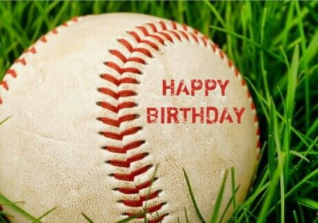Happy Birthday Iiiii Baseball With Images Happy Birthday
