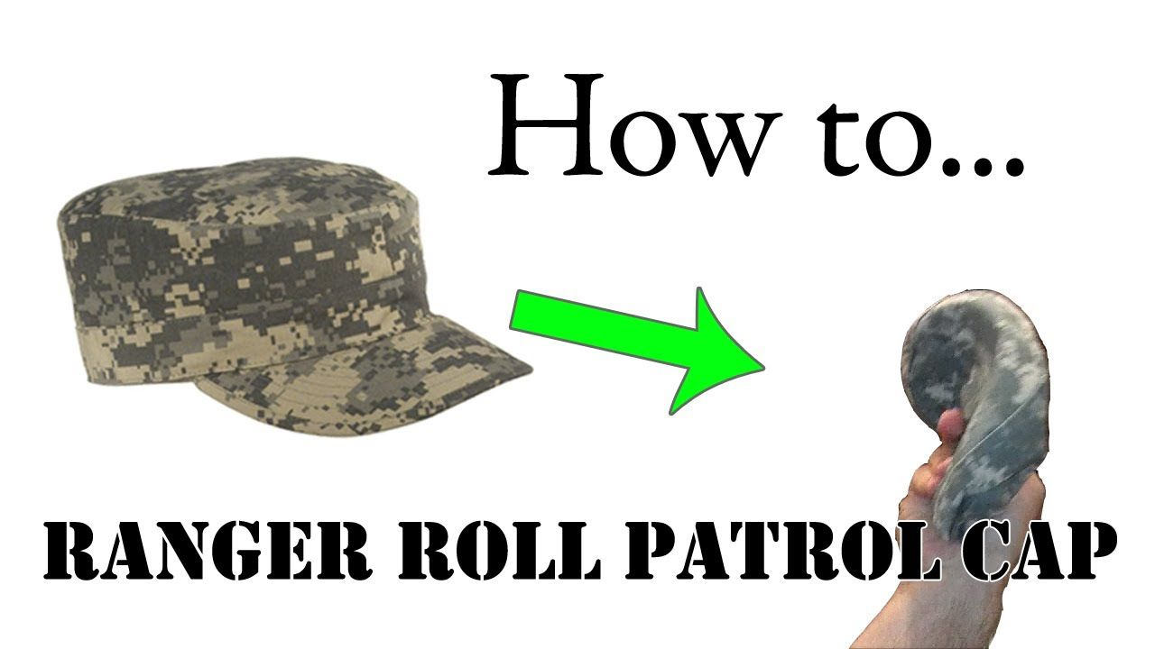 acc9ce6aca7 How to Ranger Roll Your Patrol Cap Military Style