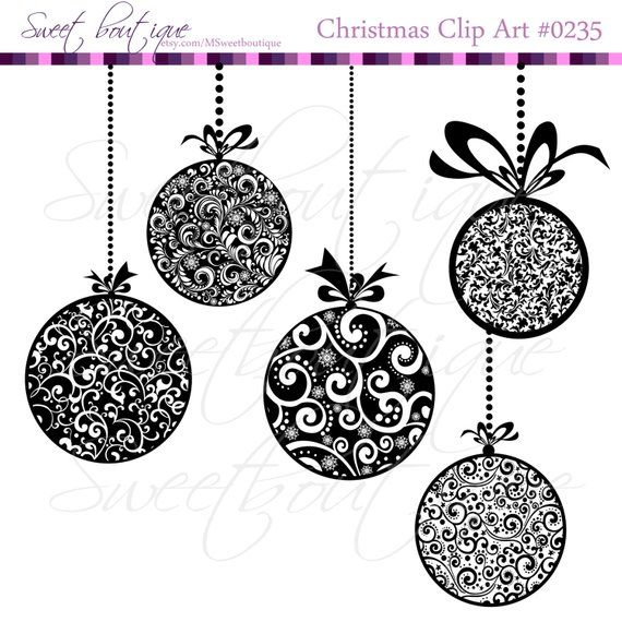 XMAs Printable Christmas Pendants Personal and Small