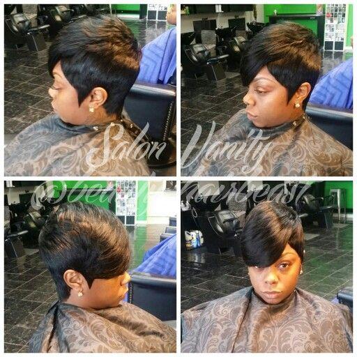 Short Cut 27 Piece Quick Curls Bangs Quick Curls Quick