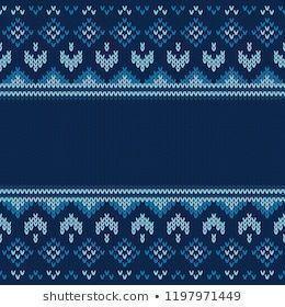 Photo of Benzer Kış Kazak Tasarımı. Fairisle Dikişsiz Örgü Deseni Görselleri, Sto…
