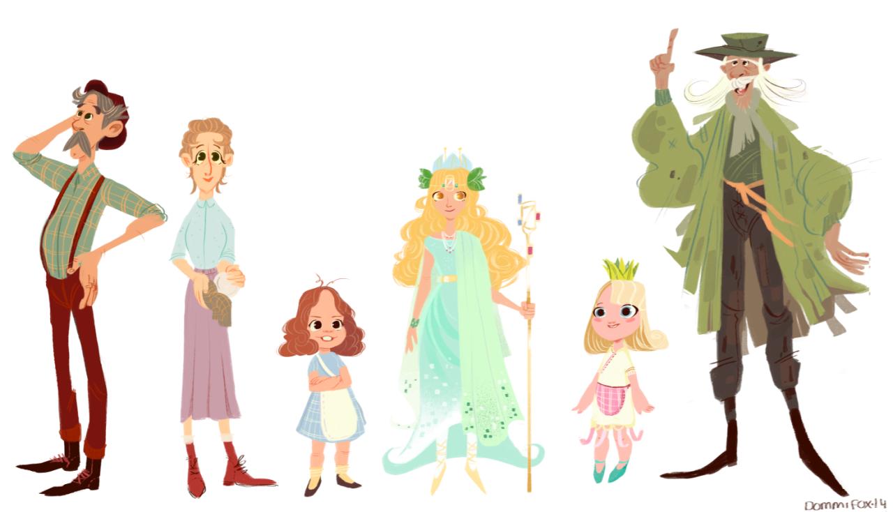 Animation Character Design Portfolio : Character design portfolios on behance awe inspiring examples