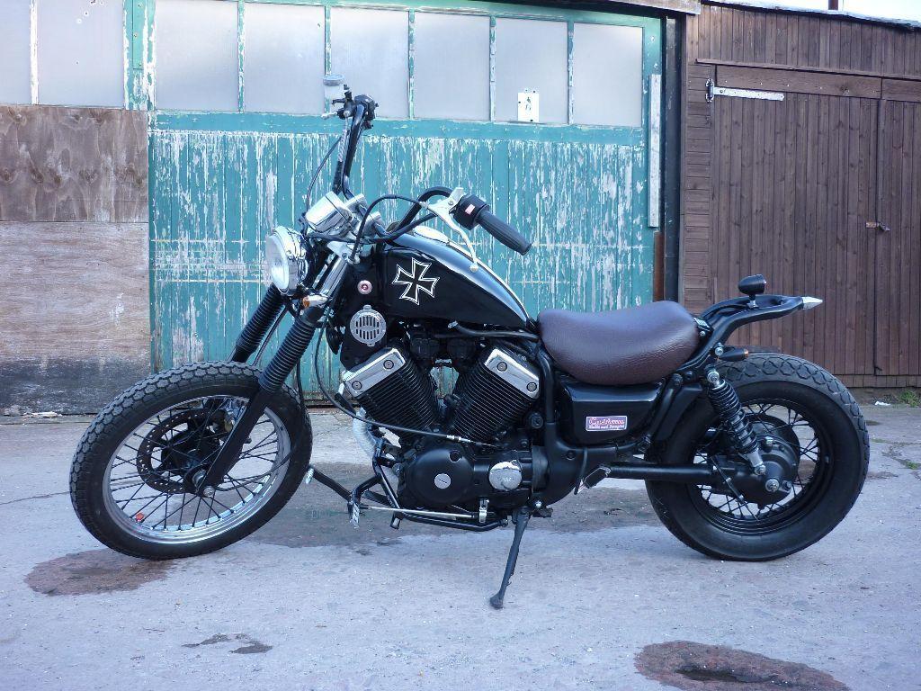 Yamaha Virago 535 Custom Bobber Chopper T Motorcykler