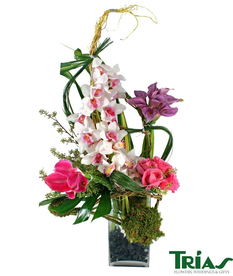 Island Breeze, Anniversary, Trias Flowers, Trias Florist
