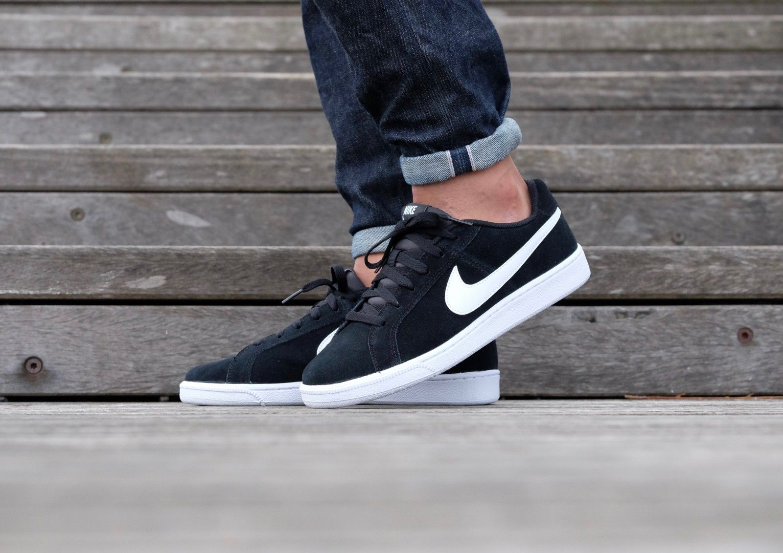 Nike Court Royale Suede Black/ White