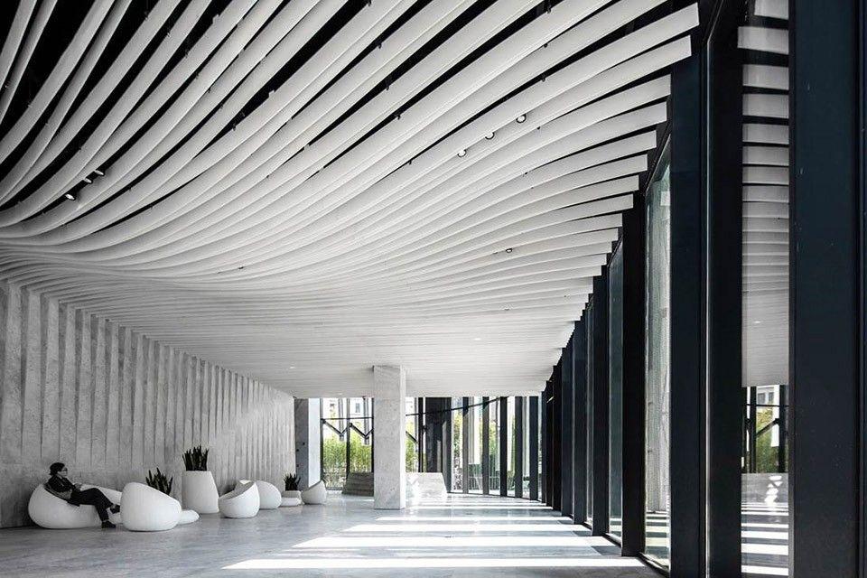 hongkou soho by kengo kuma and associates-11 | office-lobby, Innenarchitektur ideen