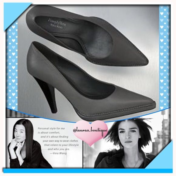 """HP 2XNWOB Vera Wang Chic Gray Dress Shoes HP 2XNEW (No Box) Simply Vera Vera Wang Graphite (Gray) Pointed Toe Dress Heels will draw compliments! Simple, sophisticated and polished! Leather upper, pointed toe, platform styling are the perfect combination of mod/modern! Light padding on footbed provides extra cushioning with every step! 4 1/4"""" high heel (1/4"""" platform) ✅Bundle Discounts✅Reasonable Offers✅Smoke-Free✅❌Trades❌ Simply Vera Vera Wang Shoes Heels"""