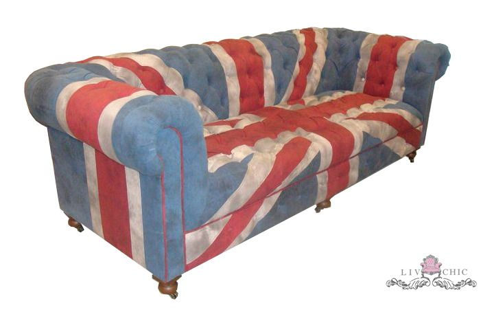 Union Jack Chesterfield Sofa By Livchic Dreamhome Furniture