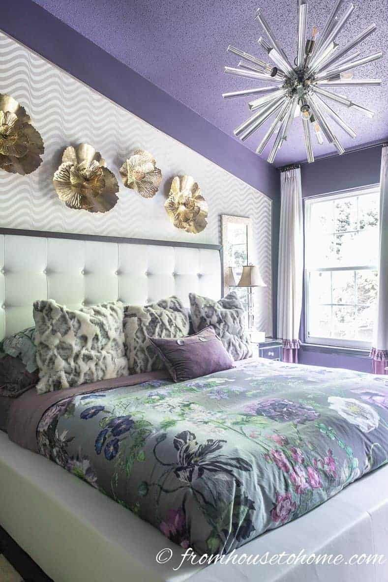Purple Bedroom Decorating Ideas Create A Stunning Master Bedroom