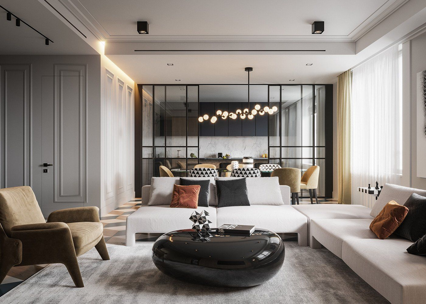 Classic Contemporary Living Room Inspirational Modern Classic On