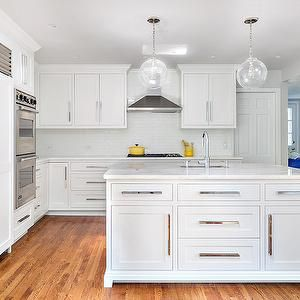 Kitchen Cabinets With Long Pulls Contemporary Kitchen Clean Design Partners Traditional Kitchen Design Kitchen Cabinets White Kitchen Cabinet Handles