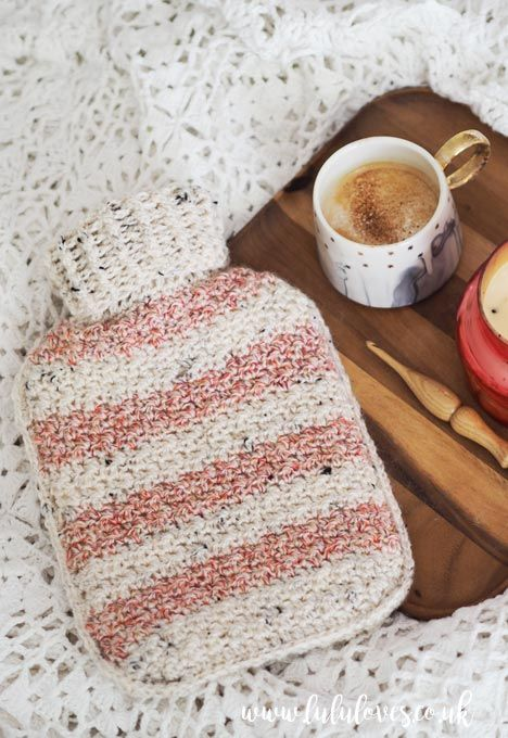Free Crochet Pattern - Hot Water Bottle Cosy | Lululoves Blog ...