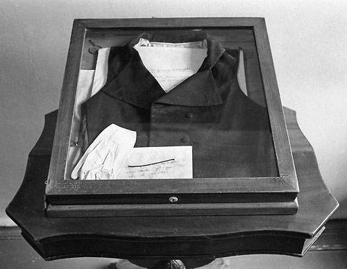 L'abito che Aleksandr Puškin indossò il giorno del duello.