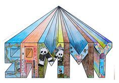 One Point Perspective Name Name Art Projects Elementary Art Elementary Art Projects
