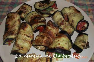 La cucina di Ombraluce: Involtini di melanzane grigliate