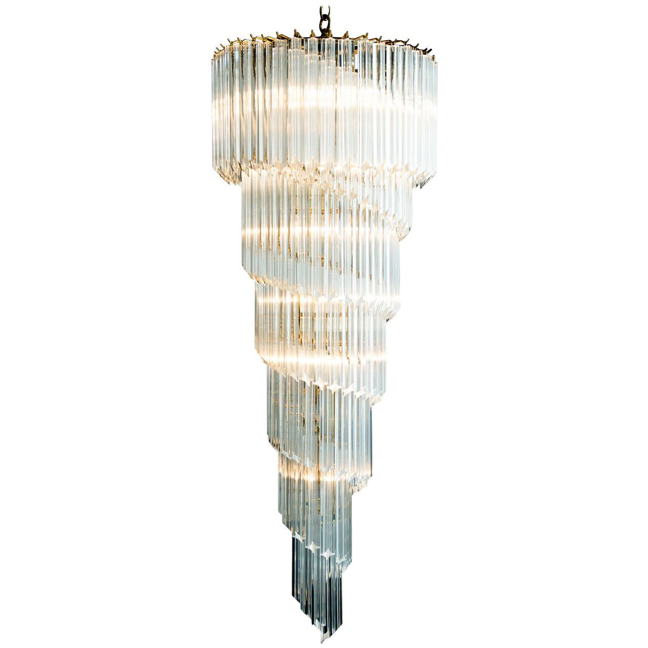 chandelier chairish lighting product emr icicle lucite by