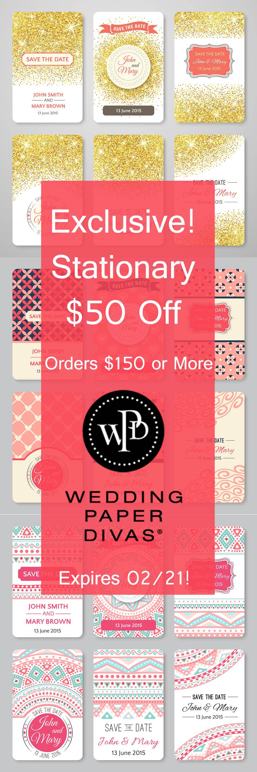 Attractive Wedding Paper Divas Gift Certificate Code Collection ...