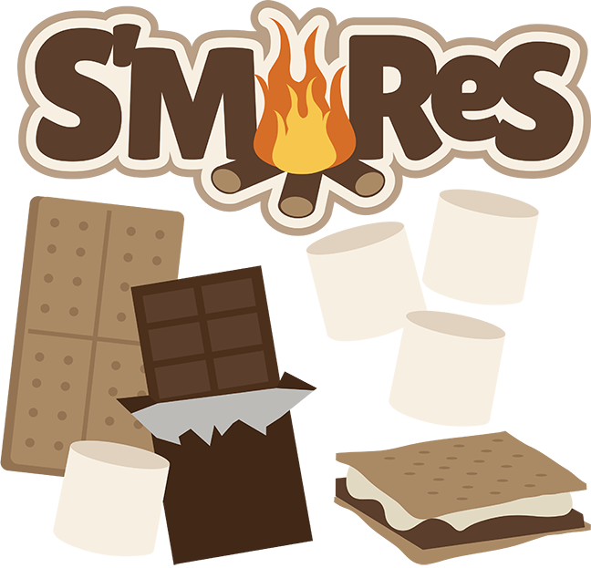 S'mores - SVG files for scrapbooking | Cuttable Scrapbook ...