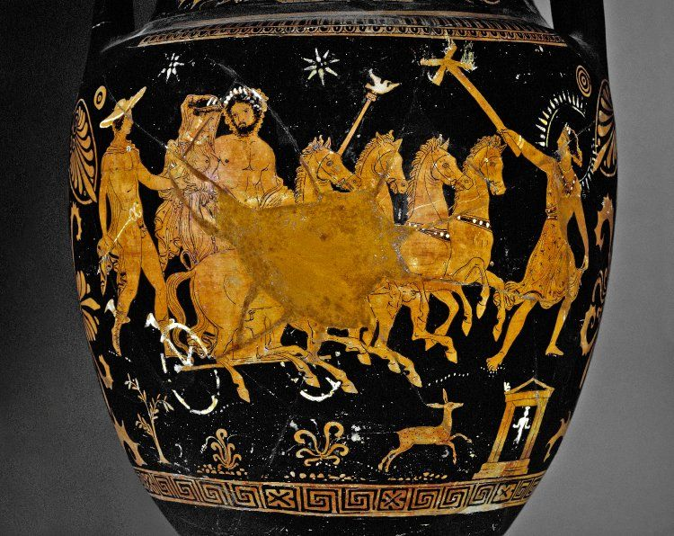 Queen Of The Underworld S Abduction Revealed In Ancient Greek
