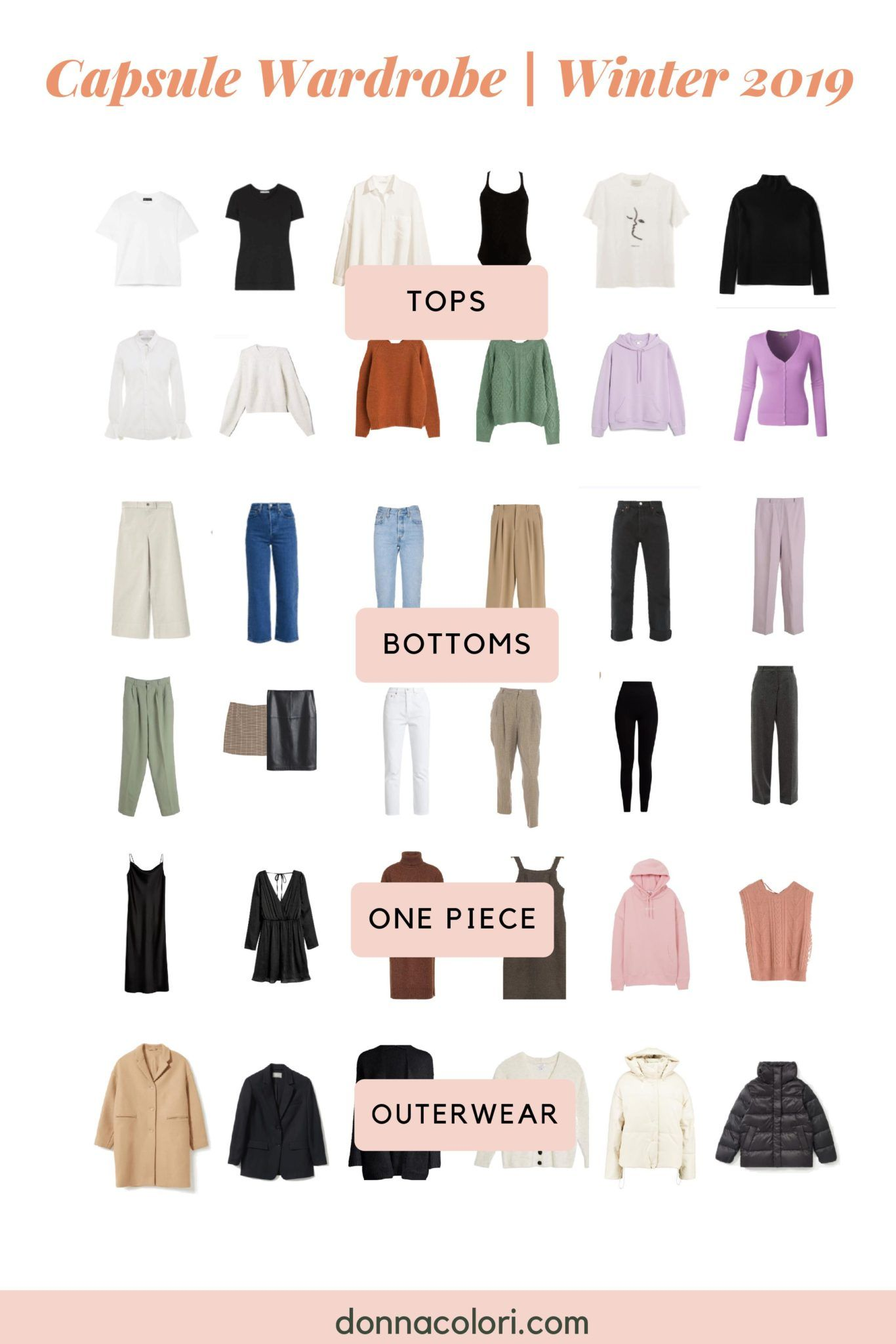 Winter Capsule Wardrobe List Get Inspiration To Stay Warm