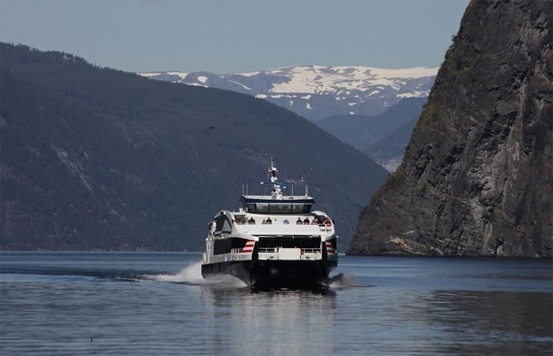 Express boat from Flam to Bergen, Norway